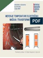 Merenje Temperature Elektricnih Masina i Transformatora