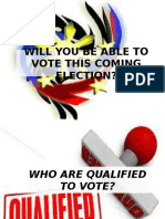 Will You Be Able to Vote This Coming
