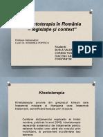 Kinetoterapia in Romanaia (1)