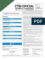 Boletín Oficial de la República Argentina, Número 33.398. 13 de junio de 2016