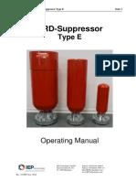06. Customer Documentation Extinguisher Type E-HRD