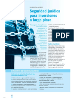 Seguridad Juridica Para Las Inversiones