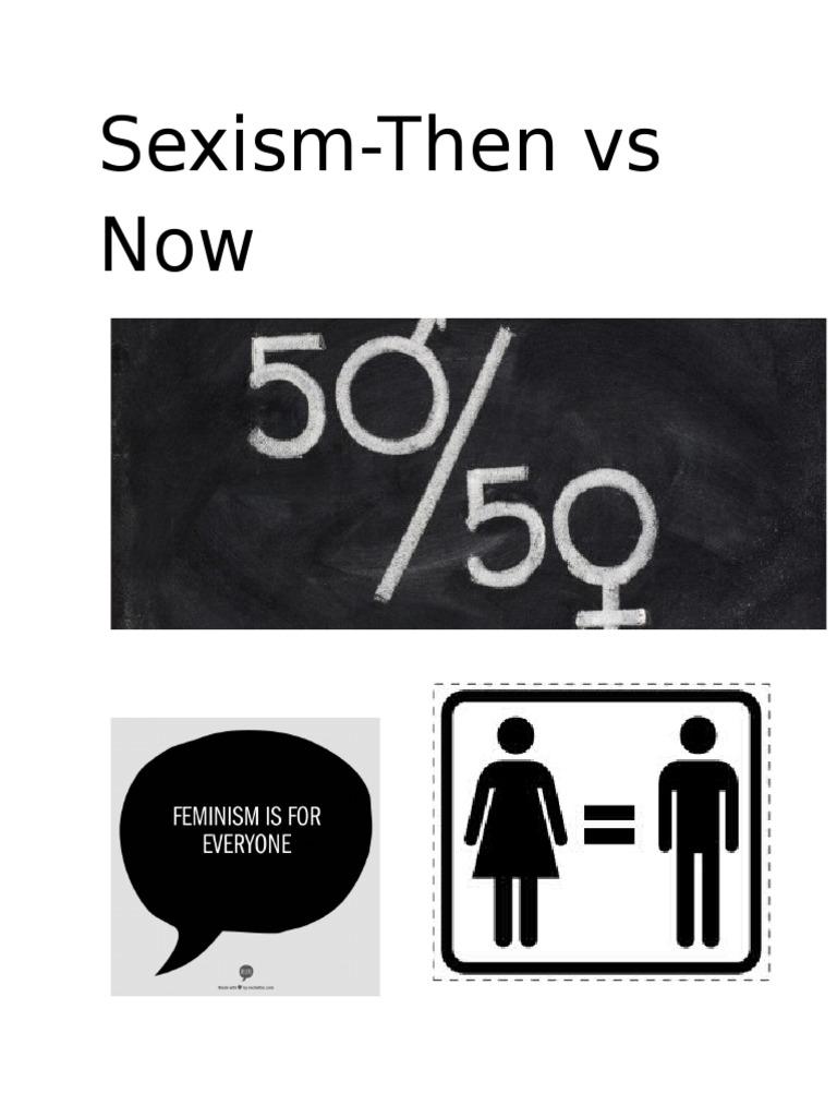 Sexism essay
