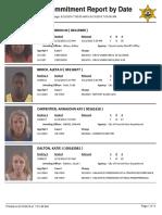 Peoria County Jail Booking Sheet 6/13/2016