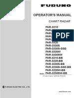 FAR3000 Operator's Manual
