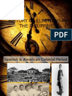 History of Elections in the Philippines