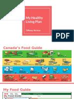 healthy living plan - tiff