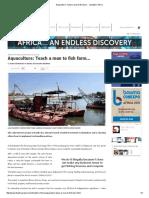 Aquaculture  Teach a man to fish farm...pdf