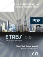 Shear Walls by Etabs