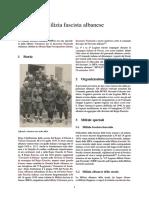 MILI - ALBANY - Milizia Fascista Albanese