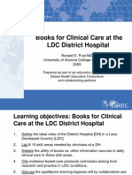 64 Books for Clinical Care at the LDC District Hospital - Pust 12Nov2012