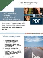 CCNA Webinar Overview