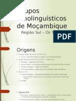 Grupos Etnolinguísticos de Moçambique