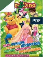 Catálogo Don Dino Verano 2008. 1-14