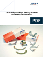 Influence on Main Bearing Grooves on Bearing Perform An