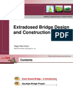 Gumjae Bridge - Extradosed Bridge Parametric Study