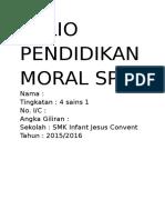 Folio Pendidikan Moral Spm