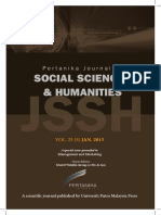 JSSH Vol. 23 (S) Jan. 2015 (View Full Journal)
