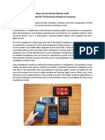 Asian Smart-Phone Market 2015 Released By The Business Research Company