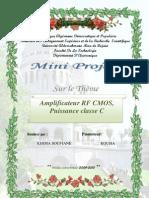 Amplificateur RF CMOS Puissance Classe C