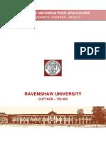 PG Admission Information Brochure 2016-17