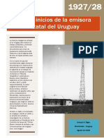 CWOA La Emisora Oficial Del Estado Uruguayo.
