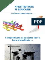 Competitivitate Si Educatie - 1