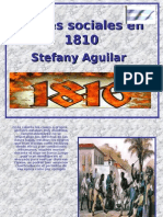 Clases Sociales en Argentina de 1810