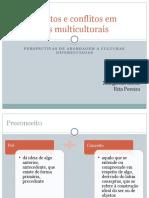 Preconceitos e Conflitos Em Ambientes Multiculturais Margarida&Rita