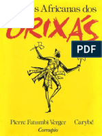 Lendas Africanas Dos Orixas - Pierre Fatumbi Verger