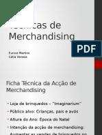Técnicas de Merchandising Eunice Catia