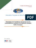 Guide AFPS - Analyse Vulnérabilité - Avril 2014