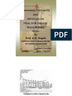 Health and Wellness by Hegde