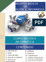 CONCEPTOS BÁSICOS Computacion e Informatica
