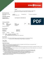 Lion Air ETicket (KDNESD) - Gabitola
