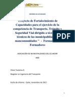 Informe Proceso Formadores TTSV