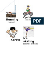 Deportes en Ingles