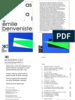 54029923 Emile Benveniste Problemas de Linguistica General 1