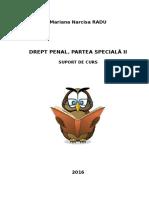 D3202 Drept penal.Parte speciala II suport IFR 2016.doc