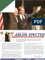 Specter-Cheney Flier 2004