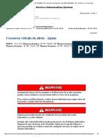 Calibrar Valvulas de Alivio D5