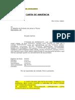 Modelo de Carta de Anuencia Pessoa Juridica