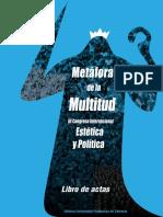 Métaforas de La Multitud III Congreso Internacional Estética y Política