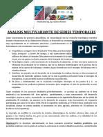 Analisis Multivariante de Series Temporales(1)