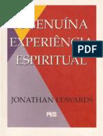 A Genuina Experiencia Espiritual - Jonathan Edwards