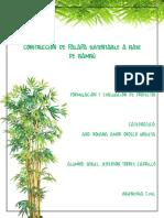 Construcción de Palapa Sustentable a Base de Bambú