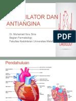 Vasodilator Dan Antiangina