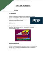 Manual Analisis Aceite Lubricante Funciones Tipos Aditivos Aceites Hidraulicos Toma Muestras