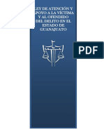 LEY DE ATENCIÓN Y APOYO A LA VÍCTIMA Y AL OFENDIDO DEL DELITO EN EL ESTADO DE GUANAJUATO