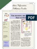 Boletim Mensal da BE/CRE _ Janeiro 10